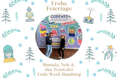 Weihnachtsgrüße von der Code Week Hamburg