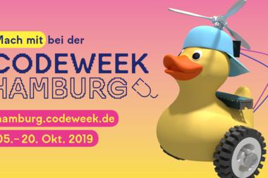 Auftaktveranstaltung zur Code Week Hamburg 2019